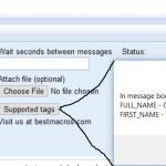 linkedin message bot