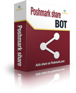 Auto share products on Poshmark.com with wind