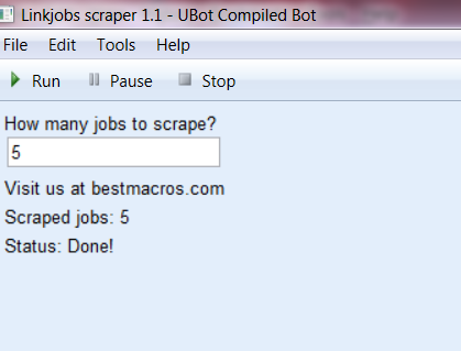 linkjobs scraper 1.1