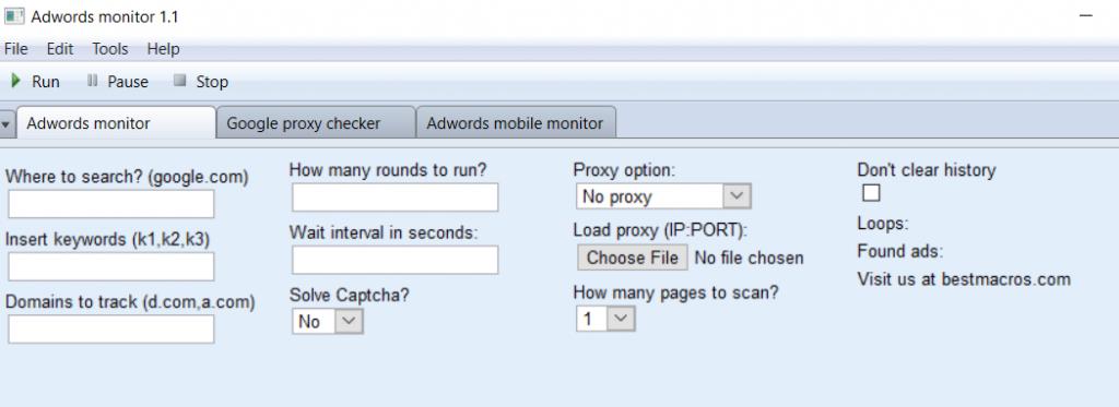 adwords monitor